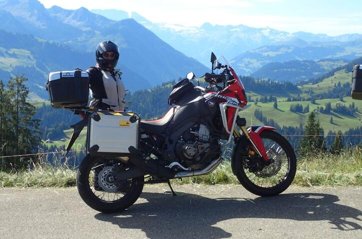 The Honda Africa Twin - just one example of a good Motorcycle Touring bike